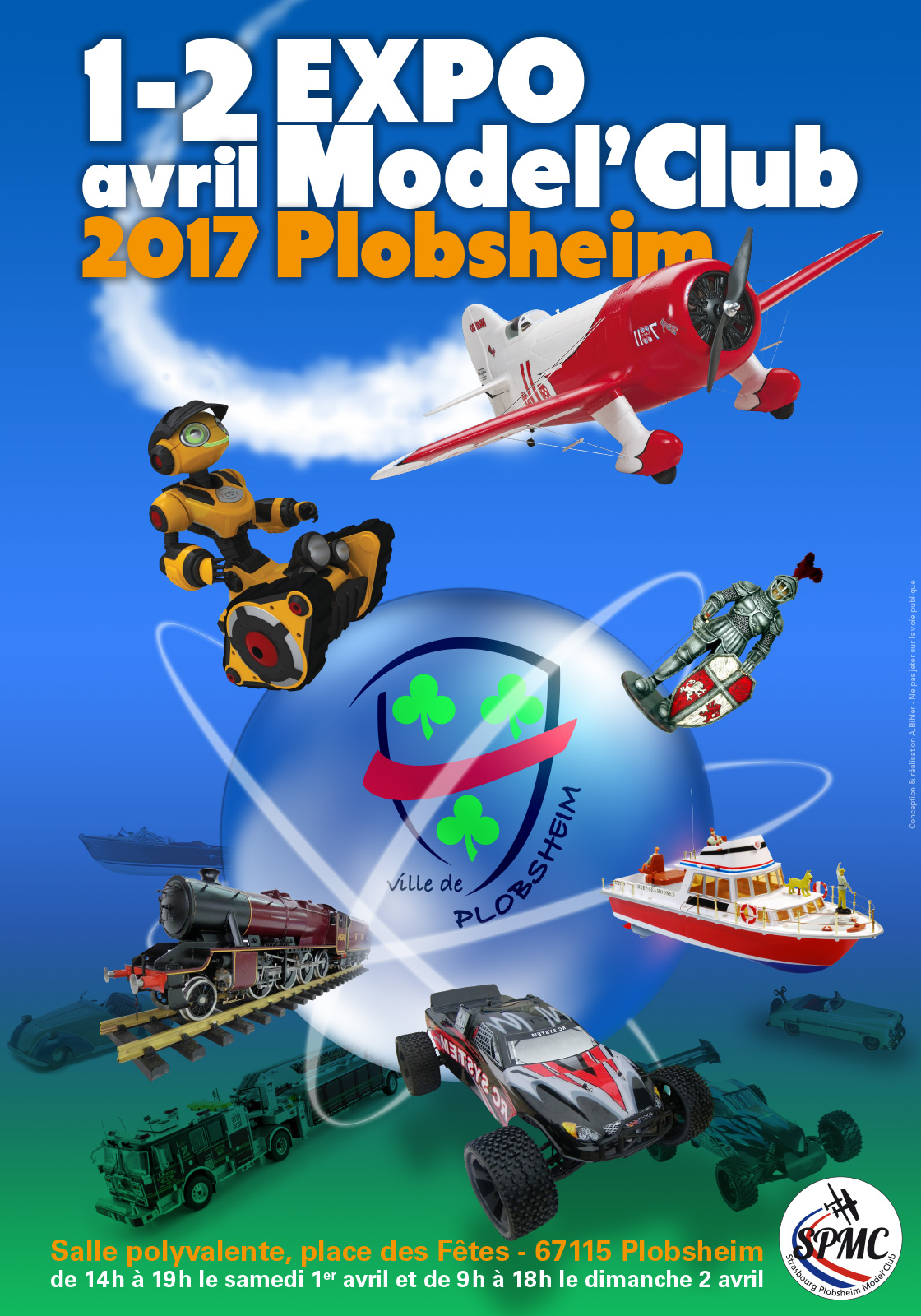 affiche expo modelclub 2017